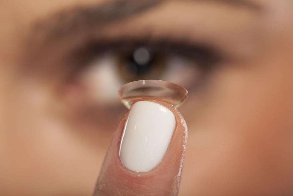 Soczewka kontaktowa do oczu